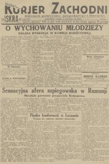 Kurjer Zachodni Iskra : dziennik polityczny, gospodarczy i literacki. R.23, 1932, nr17