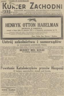 Kurjer Zachodni Iskra : dziennik polityczny, gospodarczy i literacki. R.23, 1932, nr18 [po konfiskacie]