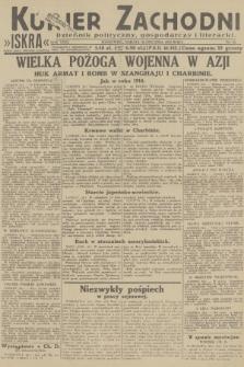 Kurjer Zachodni Iskra : dziennik polityczny, gospodarczy i literacki. R.23, 1932, nr24