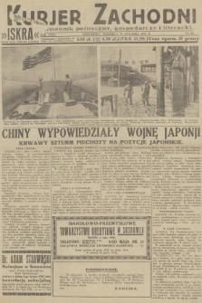 Kurjer Zachodni Iskra : dziennik polityczny, gospodarczy i literacki. R.23, 1932, nr25