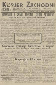 Kurjer Zachodni Iskra : dziennik polityczny, gospodarczy i literacki. R.23, 1932, nr28