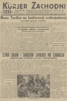 Kurjer Zachodni Iskra : dziennik polityczny, gospodarczy i literacki. R.23, 1932, nr31