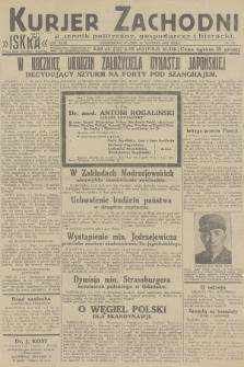 Kurjer Zachodni Iskra : dziennik polityczny, gospodarczy i literacki. R.23, 1932, nr34
