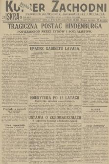 Kurjer Zachodni Iskra : dziennik polityczny, gospodarczy i literacki. R.23, 1932, nr38