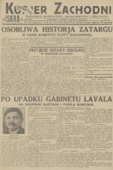 Kurjer Zachodni Iskra : dziennik polityczny, gospodarczy i literacki. R.23, 1932, nr39