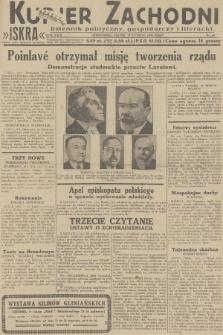 Kurjer Zachodni Iskra : dziennik polityczny, gospodarczy i literacki. R.23, 1932, nr40