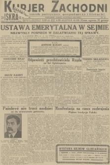 Kurjer Zachodni Iskra : dziennik polityczny, gospodarczy i literacki. R.23, 1932, nr41