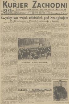 Kurjer Zachodni Iskra : dziennik polityczny, gospodarczy i literacki. R.23, 1932, nr44