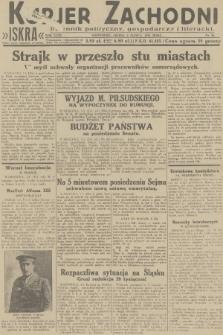 Kurjer Zachodni Iskra : dziennik polityczny, gospodarczy i literacki. R.23, 1932, nr50