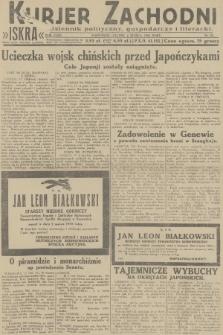 Kurjer Zachodni Iskra : dziennik polityczny, gospodarczy i literacki. R.23, 1932, nr52