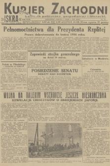 Kurjer Zachodni Iskra : dziennik polityczny, gospodarczy i literacki. R.23, 1932, nr53