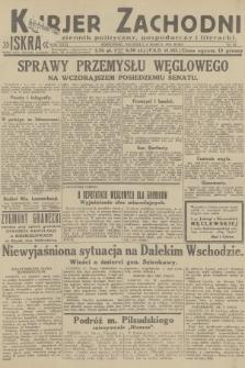 Kurjer Zachodni Iskra : dziennik polityczny, gospodarczy i literacki. R.23, 1932, nr54