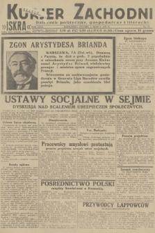 Kurjer Zachodni Iskra : dziennik polityczny, gospodarczy i literacki. R.23, 1932, nr55