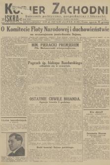 Kurjer Zachodni Iskra : dziennik polityczny, gospodarczy i literacki. R.23, 1932, nr56