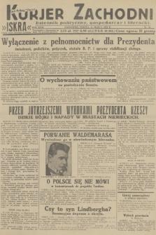 Kurjer Zachodni Iskra : dziennik polityczny, gospodarczy i literacki. R.23, 1932, nr59