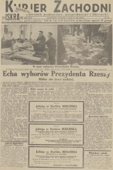Kurjer Zachodni Iskra : dziennik polityczny, gospodarczy i literacki. R.23, 1932, nr61