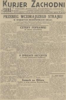 Kurjer Zachodni Iskra : dziennik polityczny, gospodarczy i literacki. R.23, 1932, nr63