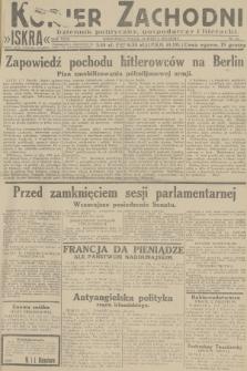 Kurjer Zachodni Iskra : dziennik polityczny, gospodarczy i literacki. R.23, 1932, nr64