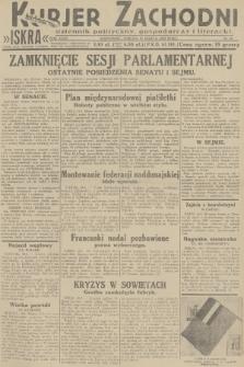 Kurjer Zachodni Iskra : dziennik polityczny, gospodarczy i literacki. R.23, 1932, nr65