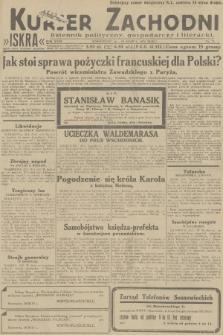 Kurjer Zachodni Iskra : dziennik polityczny, gospodarczy i literacki. R.23, 1932, nr71