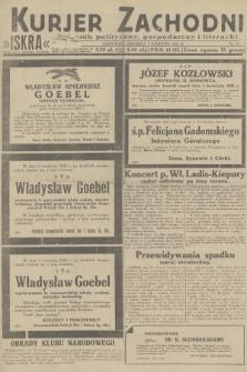 Kurjer Zachodni Iskra : dziennik polityczny, gospodarczy i literacki. R.23, 1932, nr76