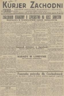 Kurjer Zachodni Iskra : dziennik polityczny, gospodarczy i literacki. R.23, 1932, nr77