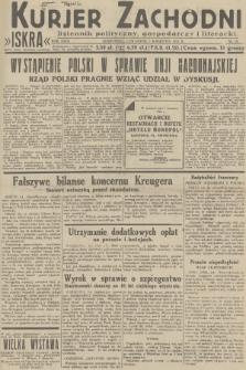 Kurjer Zachodni Iskra : dziennik polityczny, gospodarczy i literacki. R.23, 1932, nr79