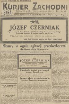 Kurjer Zachodni Iskra : dziennik polityczny, gospodarczy i literacki. R.23, 1932, nr80 [po konfiskacie]