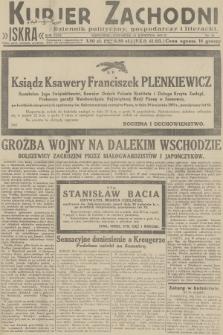 Kurjer Zachodni Iskra : dziennik polityczny, gospodarczy i literacki. R.23, 1932, nr91