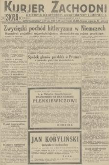 Kurjer Zachodni Iskra : dziennik polityczny, gospodarczy i literacki. R.23, 1932, nr95