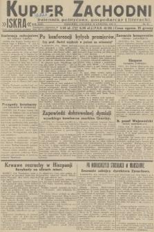 Kurjer Zachodni Iskra : dziennik polityczny, gospodarczy i literacki. R.23, 1932, nr97