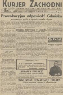 Kurjer Zachodni Iskra : dziennik polityczny, gospodarczy i literacki. R.23, 1932, nr103