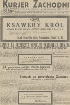 Kurjer Zachodni Iskra : dziennik polityczny, gospodarczy i literacki. R.23, 1932, nr105