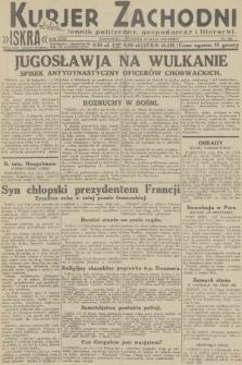 Kurjer Zachodni Iskra : dziennik polityczny, gospodarczy i literacki. R.23, 1932, nr109