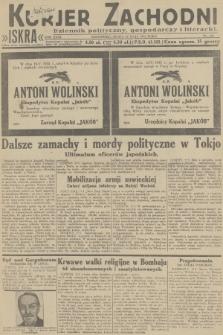 Kurjer Zachodni Iskra : dziennik polityczny, gospodarczy i literacki. R.23, 1932, nr114