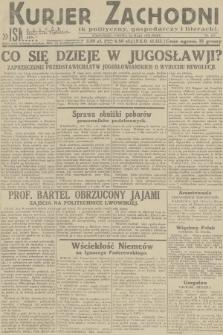 Kurjer Zachodni Iskra : dziennik polityczny, gospodarczy i literacki. R.23, 1932, nr117