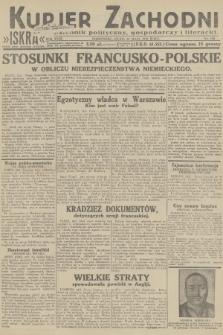 Kurjer Zachodni Iskra : dziennik polityczny, gospodarczy i literacki. R.23, 1932, nr120