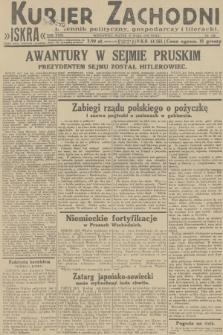 Kurjer Zachodni Iskra : dziennik polityczny, gospodarczy i literacki. R.23, 1932, nr122