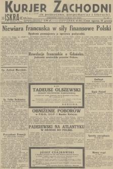 Kurjer Zachodni Iskra : dziennik polityczny, gospodarczy i literacki. R.23, 1932, nr123