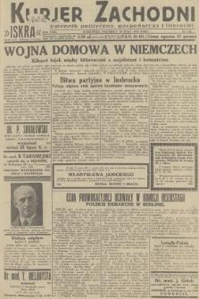 Kurjer Zachodni Iskra : dziennik polityczny, gospodarczy i literacki. R.23, 1932, nr124
