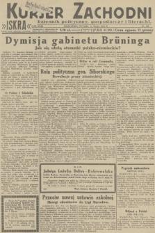 Kurjer Zachodni Iskra : dziennik polityczny, gospodarczy i literacki. R.23, 1932, nr125