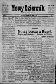Nowy Dziennik. 1918 , nr1