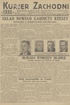 Kurjer Zachodni Iskra : dziennik polityczny, gospodarczy i literacki. R.23, 1932, nr128