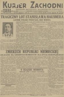 Kurjer Zachodni Iskra : dziennik polityczny, gospodarczy i literacki. R.23, 1932, nr131