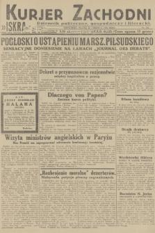 Kurjer Zachodni Iskra : dziennik polityczny, gospodarczy i literacki. R.23, 1932, nr134
