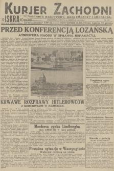 Kurjer Zachodni Iskra : dziennik polityczny, gospodarczy i literacki. R.23, 1932, nr135