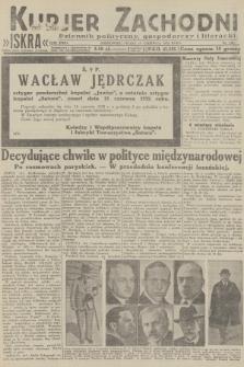 Kurjer Zachodni Iskra : dziennik polityczny, gospodarczy i literacki. R.23, 1932, nr138
