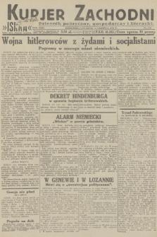 Kurjer Zachodni Iskra : dziennik polityczny, gospodarczy i literacki. R.23, 1932, nr139