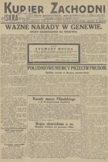 Kurjer Zachodni Iskra : dziennik polityczny, gospodarczy i literacki. R.23, 1932, nr143
