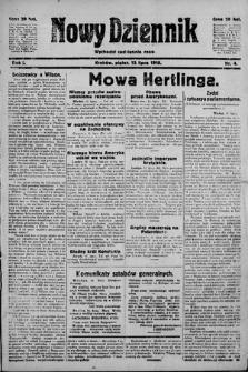 Nowy Dziennik. 1918 , nr4